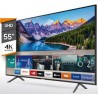 "TV SMART SAMSUNG 55"" NU7100"